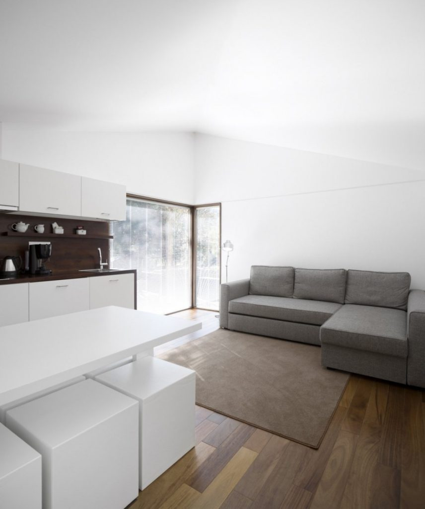 Ekologické apartmány - montované domy