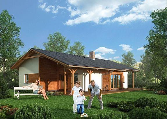 Montovany dom bungalov