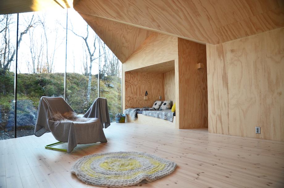 Montovaný dom V-lodge od Reiulf Ramstad Architects