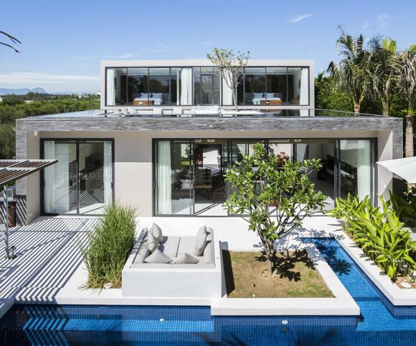 Výnimočný dizanj vietnemských víkendových domov